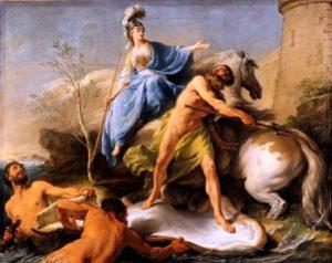 Dispute de Minerve et de Neptune, (1748)-Louvre,Parigi-