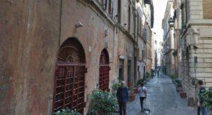 Roma-Via dei coronari