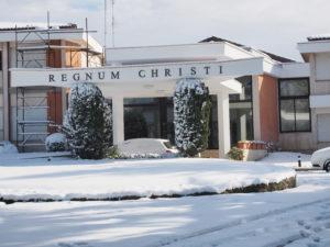 Neve a Castel di Guido - Residenza Aurelia --ore 9:30 del 26 febb 2018