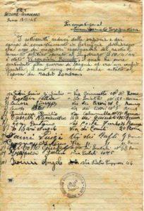 Denuncia PC--I17 APRILE 1944 RASTRELLAMENTO DEL QUADRARO