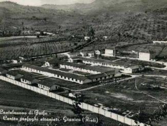 Campo Profughi Farfa Sabina- Castelnuovo di Farfa