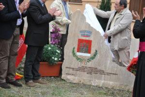 inaugurazione epigrafe Campo FARFA SABINA- 25 aprile 2013-