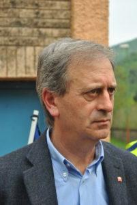 Tonino Pietrantoni, Dirigente CGIL-inaugurazione epigrafe Campo FARFA SABINA- 25 aprile 2013-