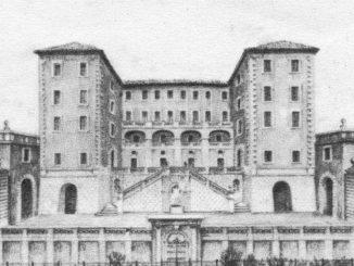 CASTELNUOVO DI FARFA - PALAZZO SIMONETTI-ora EREDI SALUSTRI GALLI-