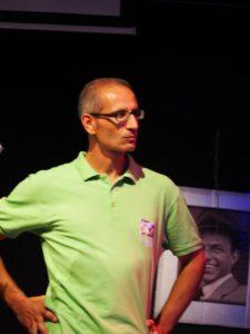 Luca Calderoni Presidente della Proloco Testa di Lepre