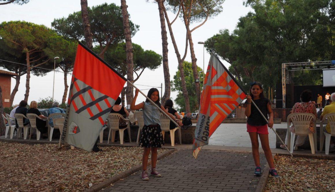 Borgo Testa di Lepre-Bandiere del Palio dei Fontanili