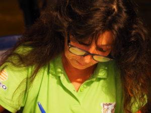 Maria Rita RASTELLI Segretaria della ProLoco del Borgo TESTA di LEPRE