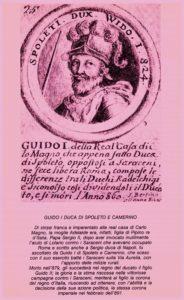 Guido I Duca di Spoleto e Camerino-Palio dei Fontanili del Borgo Testa di Lepre