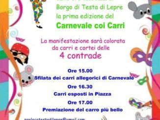 Febbre da Carnevale a Testa di Lepre