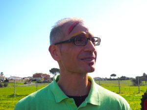 Borgo Testa di Lepre-3 marzo 2019- la sfilata dei carri allegorici.Luca Calderoli Presidente ProLoco-