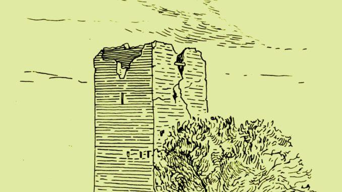 Torre della Bottaccia disegno ricavato dal Catasto Alessandrino del sec. XVII