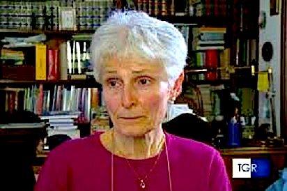 professoressa Rosa Maria Dell'Aria