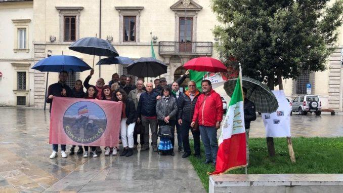 Rieti 23 maggio 2019 Presidio ANPI prefettura Rieti,