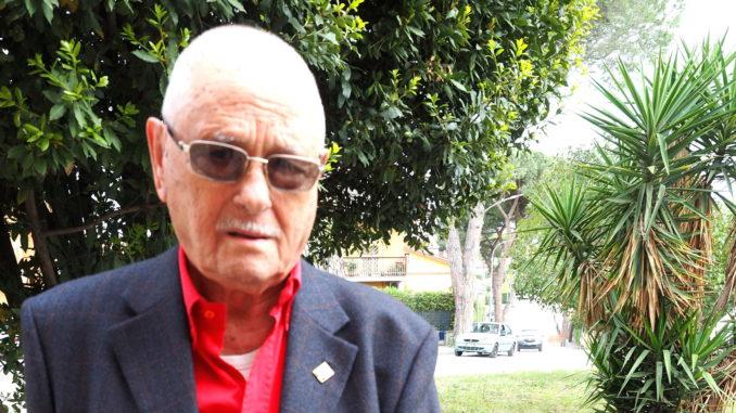RENZO RICCI –Comandante Partigiano Presidente ANPI Provinciale di RIETI;