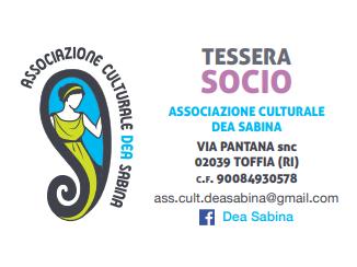 Associazione Culturale DEA SABINA