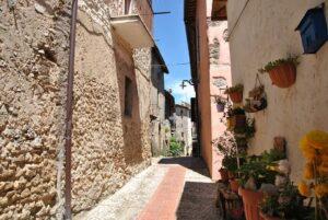 Castelnuovo di Farfa, via Coronari