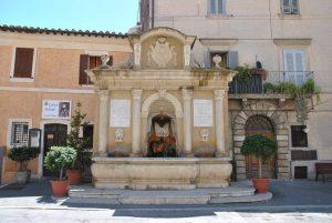 Castelnuovo di Farfa (Rieti) - La Fontana