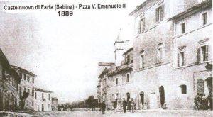 Castelnuovo di Farfa (Rieti) Foto del 1889