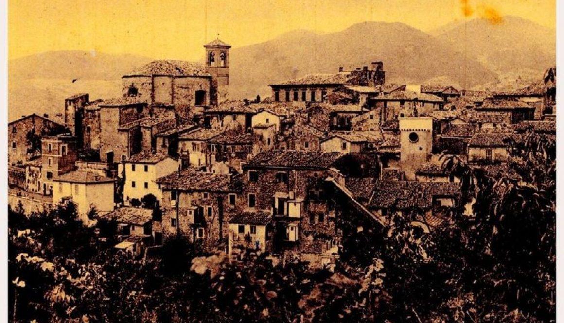 Castelnuovo di Farfa (Rieti) - Foto 1950-