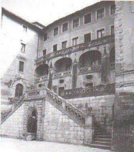 Castelnuovo di Farfa (Rieti) Palazzo Eredi Salustri-Galli