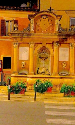 Castelnuovo di Farfa (Rieti) la Fontana