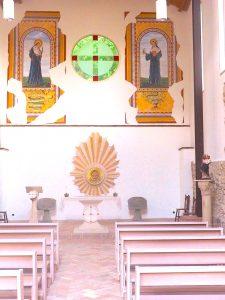 Castelnuovo di Farfa- (Rieti) -Cappella agreste di Santa Brigida-