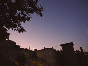 Castelnuovo di Farfa (Rieti)- La piazza comunale