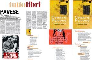 Tuttolibri Cesare Pavese L'OPERA POETICA