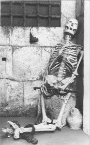 """POGGIO CATINO in SABINA- Il mistero dello """"scheletro del Castello""""."""