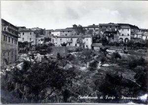 Castelnuovo di Farfa (Rieti) - Foto anni 1950/60-Loc. LA VIGNA