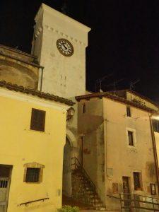 Castelnuovo di Farfa (Rieti) - Porta Castello, Torre dell'Orologio
