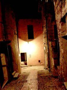 Castelnuovo di Farfa (Rieti) - Via Garibaldi-incrocio con Coronari