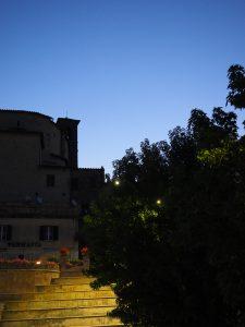 Castelnuovo di Farfa (Rieti) - La Piazza Comunale